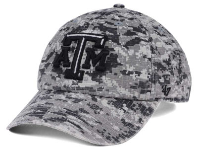 Texas A&M Aggies '47 NCAA Operation Hat Trick Camo Nilan '47 CLEAN UP Cap