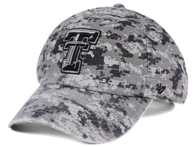 Texas Tech Red Raiders '47 NCAA Operation Hat Trick Camo Nilan '47 CLEAN UP Cap