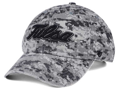 Tulsa Golden Hurricane '47 NCAA Operation Hat Trick Camo Nilan '47 CLEAN UP Cap
