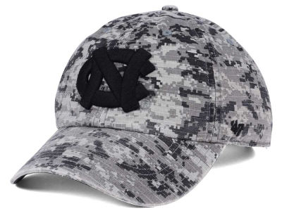 North Carolina Tar Heels '47 NCAA Operation Hat Trick Camo Nilan '47 CLEAN UP Cap