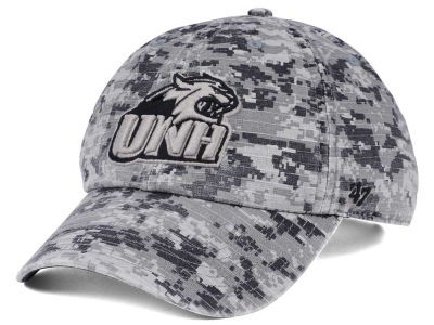 New Hampshire Wildcats '47 NCAA Operation Hat Trick Camo Nilan '47 CLEAN UP Cap