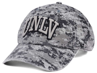 UNLV Runnin Rebels '47 NCAA Operation Hat Trick Camo Nilan '47 CLEAN UP Cap