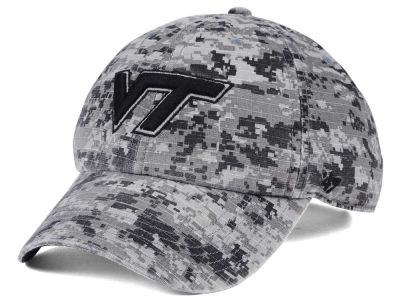 Virginia Tech Hokies '47 NCAA Operation Hat Trick Camo Nilan '47 CLEAN UP Cap