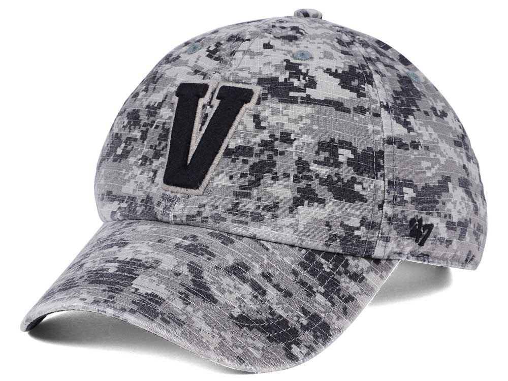 Vanderbilt Commodores  47 NCAA Operation Hat Trick Camo Nilan  47 CLEAN UP  Cap  79012aa20cb9