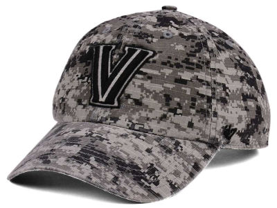 Villanova Wildcats '47 NCAA Operation Hat Trick Camo Nilan '47 CLEAN UP Cap