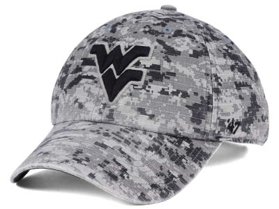 West Virginia Mountaineers '47 NCAA Operation Hat Trick Camo Nilan '47 CLEAN UP Cap