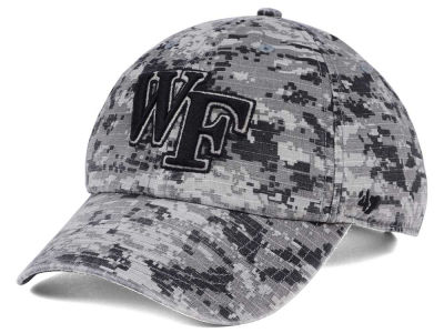 Wake Forest Demon Deacons '47 NCAA Operation Hat Trick Camo Nilan '47 CLEAN UP Cap
