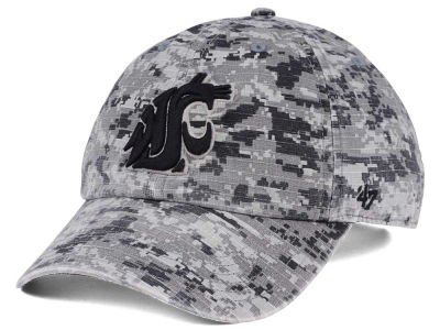 Washington State Cougars '47 NCAA Operation Hat Trick Camo Nilan '47 CLEAN UP Cap