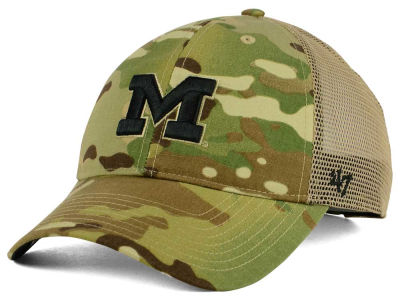 Michigan Wolverines '47 NCAA Operation Hat Trick Thompson '47 CLEAN UP Cap