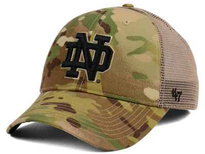 Notre Dame Fighting Irish '47 NCAA Operation Hat Trick Thompson '47 CLEAN UP Cap