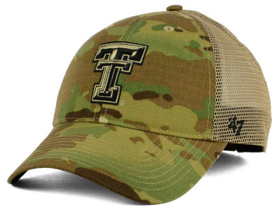 Texas Tech Red Raiders '47 NCAA Operation Hat Trick Thompson '47 CLEAN UP Cap
