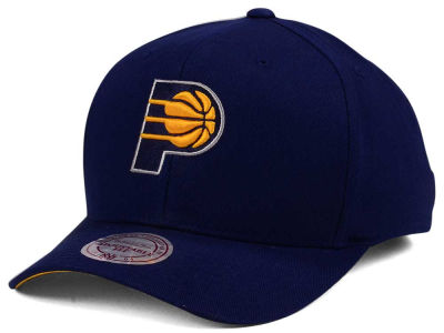 Indiana Pacers Mitchell & Ness NBA X Flexfit 110 Snapback Cap