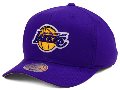 Los Angeles Lakers Mitchell & Ness NBA X Flexfit 110 Snapback Cap