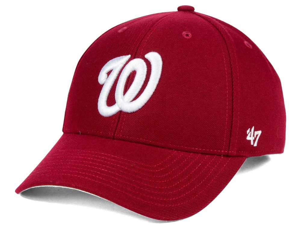 Washington Nationals  47 MLB Core  47 MVP Cap  c75a2b2802f9
