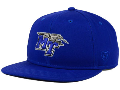Middle Tennessee State Blue Raiders Top of the World NCAA League Snapback Cap
