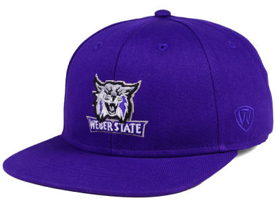 Weber State Wildcats Top of the World NCAA League Snapback Cap