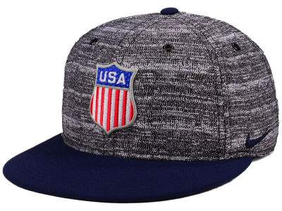 USA Hockey Nike 2018 Olympic True Snapback Cap