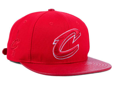 Cleveland Cavaliers Pro Standard NBA Red on Red Strapback Cap