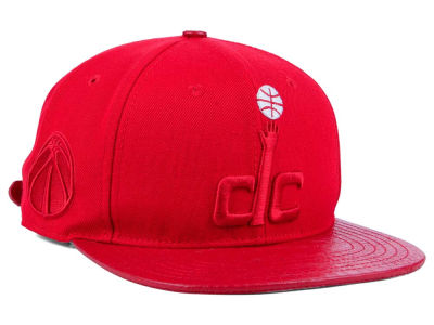 Washington Wizards Pro Standard NBA Red on Red Strapback Cap