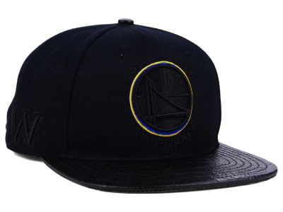 Golden State Warriors Pro Standard NBA Blackout Strapback Cap