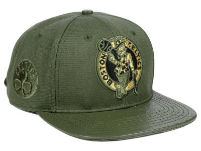 Boston Celtics Pro Standard NBA Gold Strapback Cap