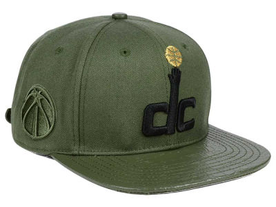 Washington Wizards Pro Standard NBA Gold Strapback Cap