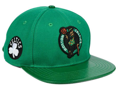 Boston Celtics Pro Standard NBA Team Color Jersey Strapback Cap