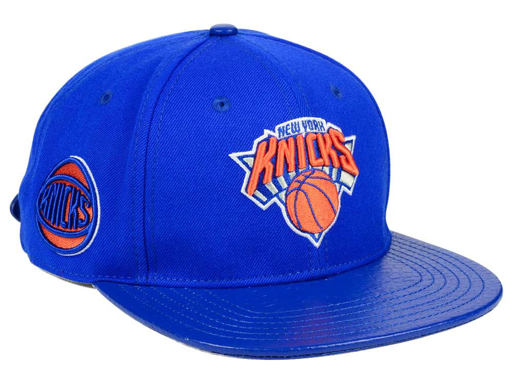 b713fef5b40c0a ... uk new york knicks pro standard nba team color jersey strapback cap  lids 4f812 c7ee2