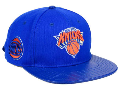 New York Knicks Pro Standard NBA Team Color Jersey Strapback Cap