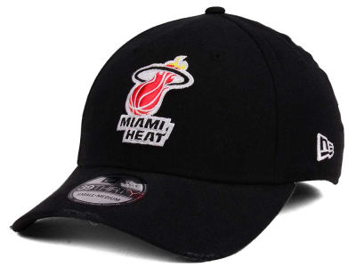Miami Heat New Era NBA Hardwood Classic Nights Six 39THIRTY Cap