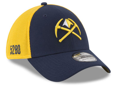 Denver Nuggets New Era NBA City Series 39THIRTY Cap