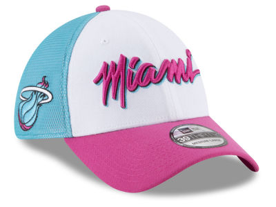 new style 06a8f f13f8 Miami Heat New Era NBA City Series 39THIRTY Cap