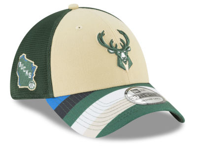 Milwaukee Bucks New Era NBA City Series 39THIRTY Cap