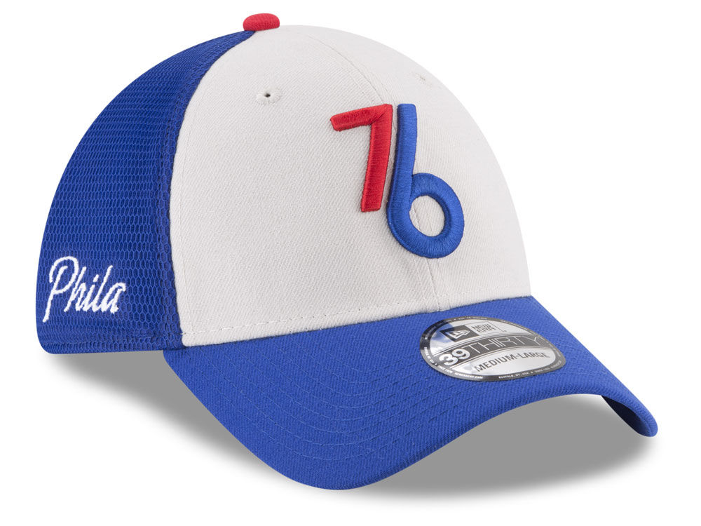 6aca31415f5 Philadelphia 76ers New Era NBA City Series 39THIRTY Cap