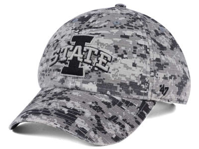 Iowa State Cyclones '47 NCAA Operation Hat Trick Camo Nilan '47 CLEAN UP Cap