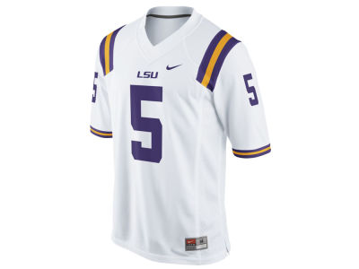 LSU Tigers Nike NCAA Men's Football Replica Game Jersey