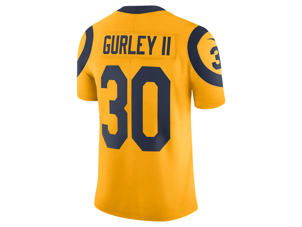 Los Angeles Rams Todd Gurley Nike NFL Men s Limited Color Rush Jersey  bb35ec2fa