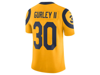 Los Angeles Rams Todd Gurley Nike NFL Men's Limited Color Rush Jersey