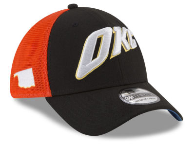 Oklahoma City Thunder New Era NBA Youth City Series 39THIRTY Cap