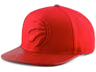 Toronto Raptors Pro Standard NBA Red on Red Strapback Cap