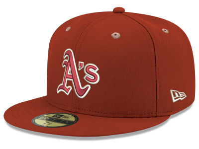 Oakland Athletics New Era MLB Pantone Collection 59FIFTY Cap