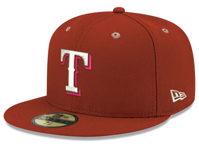 Texas Rangers New Era MLB Pantone Collection 59FIFTY Cap