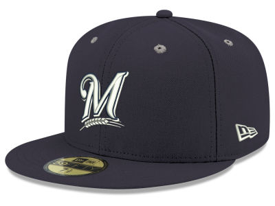 Milwaukee Brewers New Era MLB Pantone Collection 59FIFTY Cap