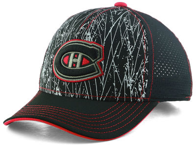 Montreal Canadiens Outerstuff NHL Youth On-Ice Structured Adjustable Cap