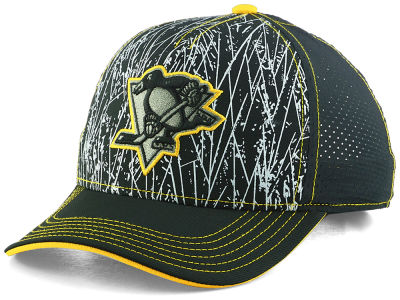 Pittsburgh Penguins Outerstuff NHL Youth On-Ice Structured Adjustable Cap