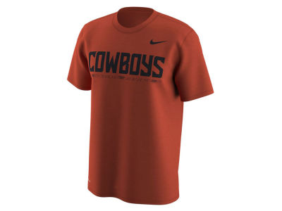 Oklahoma State Cowboys Nike NCAA Men's Fresh Trainer Hook T-Shirt
