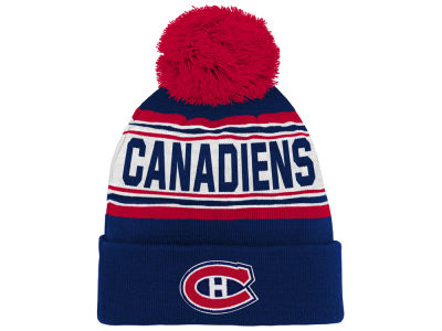 Montreal Canadiens Outerstuff NHL Toddler Cuffed Knit Pom
