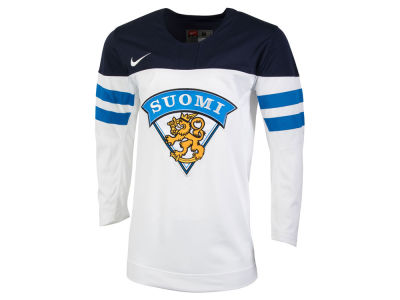 Finland Hockey Nike IIHF Men's Replica Hockey Jersey