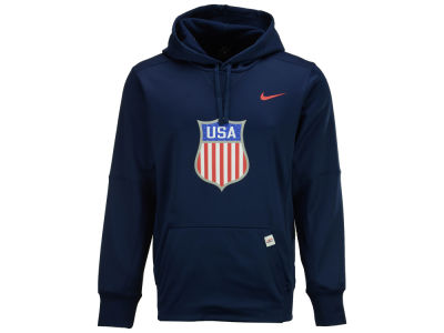 USA Hockey Nike Men's Therma Pullover Hoodie