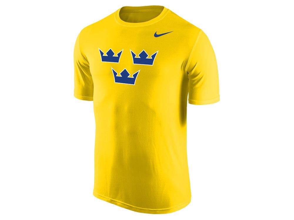 7a092dd81 Sweden Hockey Nike IIHF Men s Hockey T-Shirt